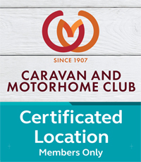 Caravan Club Certificated Location