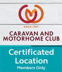 Caravan Club Certificated Location